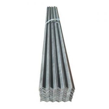 Steel slotted angle / steel angle iron with holes